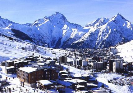 Location au ski Residences Les Deux Alpes 1800 - Les 2 Alpes - Extérieur hiver