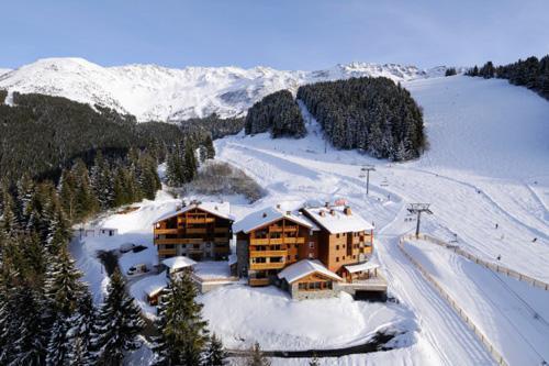 Residenza direttamente sulle piste Residence Les Granges Des 7 Laux