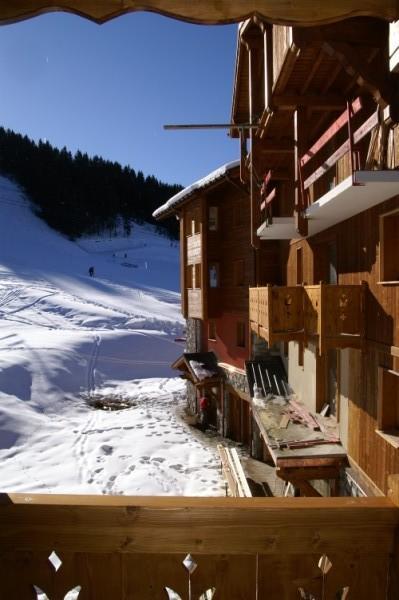 Vacances en montagne Résidence les Granges des 7 Laux - Les 7 Laux - Extérieur hiver
