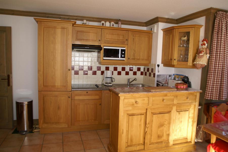 Alquiler al esquí Apartamento 2-3 piezas y espacio 4-6 personas - Résidence les Granges des 7 Laux - Les 7 Laux - Cocina