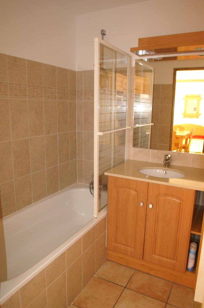 Alquiler al esquí Apartamento 2 piezas para 4 personas - Résidence les Granges des 7 Laux - Les 7 Laux - Cuarto de baño