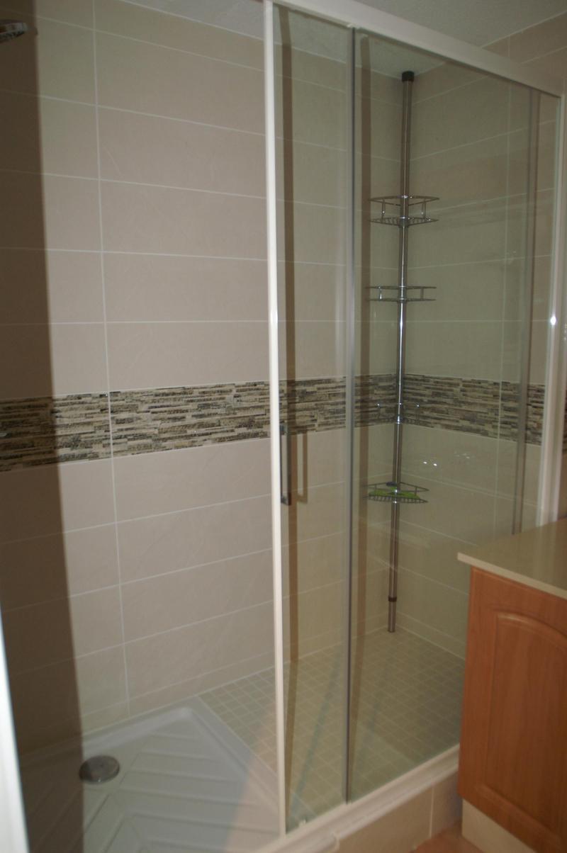 Location au ski Appartement 2-3 pièces 4-6 personnes - Résidence les Granges des 7 Laux - Les 7 Laux - Douche