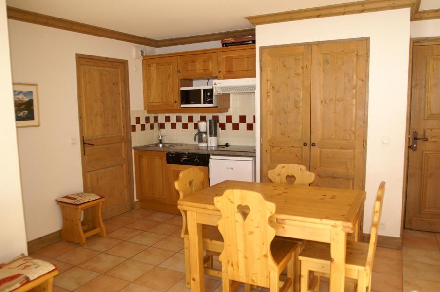 Location au ski Appartement 2 pièces 4 personnes - Résidence les Granges des 7 Laux - Les 7 Laux - Cuisine