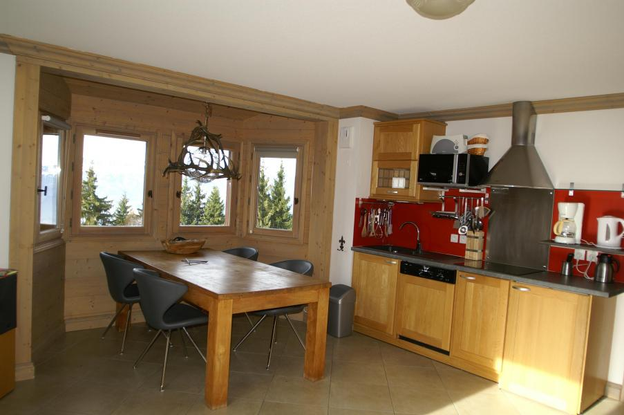 Location au ski Appartement 3 pièces cabine 6-8 personnes - Résidence les Granges des 7 Laux - Les 7 Laux - Cuisine