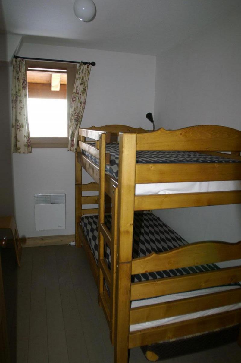 Location au ski Appartement 3 pièces cabine 6-8 personnes - Résidence les Granges des 7 Laux - Les 7 Laux - Lits superposés