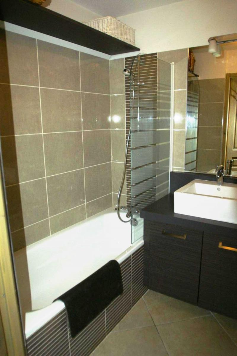 Location au ski Appartement 3 pièces cabine 6-8 personnes - Résidence les Granges des 7 Laux - Les 7 Laux - Salle de bains