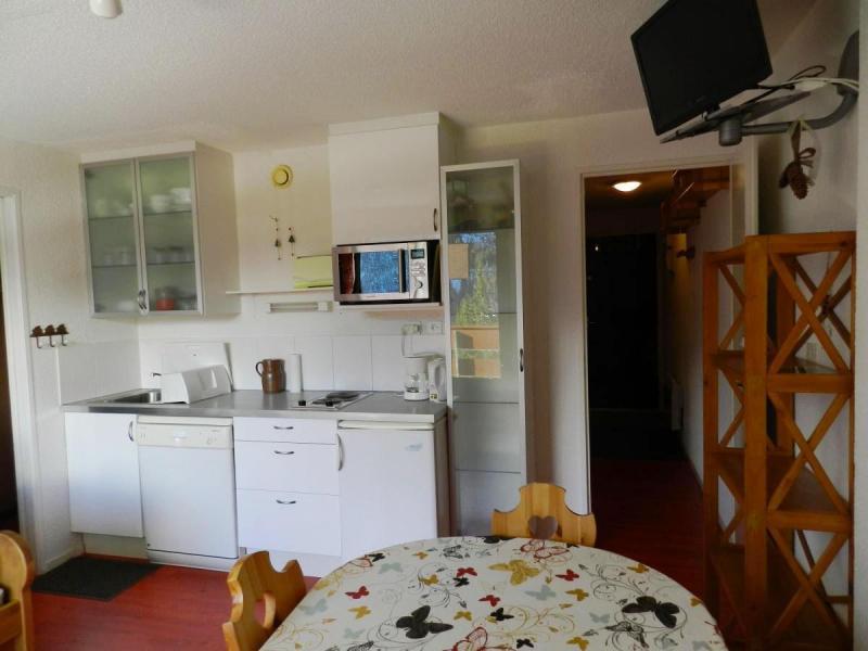 Alquiler al esquí Apartamento 2 piezas para 5 personas (estándar) - Résidences le Pleynet les 7 Laux - Les 7 Laux - Cocina