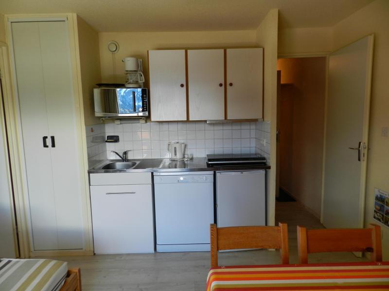 Alquiler al esquí Apartamento cabina para 4 personas (estándar) - Résidences le Pleynet les 7 Laux - Les 7 Laux - Cocina