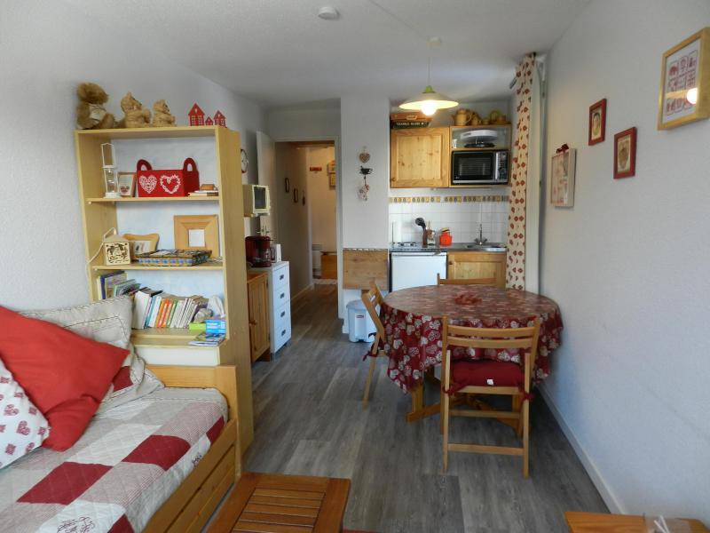 Alquiler al esquí Apartamento cabina para 4 personas (estándar) - Résidences le Pleynet les 7 Laux - Les 7 Laux - Estancia