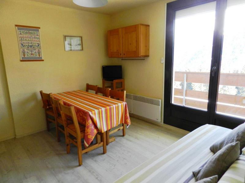 Location au ski Studio cabine 4 personnes (standard) - Résidences le Pleynet les 7 Laux - Les 7 Laux - Coin repas