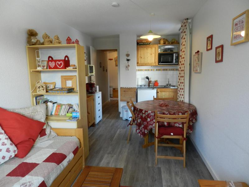 Location au ski Studio cabine 4 personnes (standard) - Résidences le Pleynet les 7 Laux - Les 7 Laux - Séjour