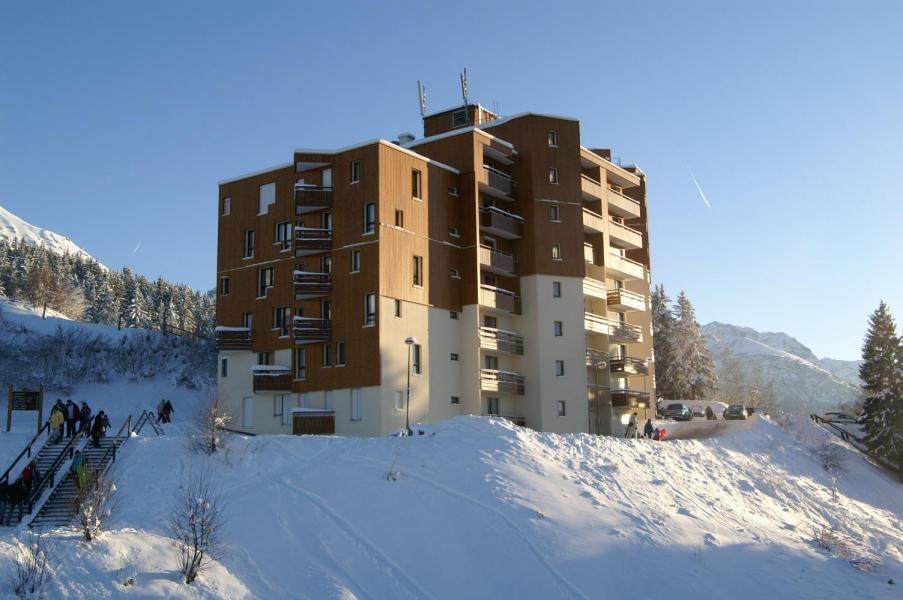 Location au ski Résidences Prapoutel les 7 Laux - Les 7 Laux - Extérieur hiver