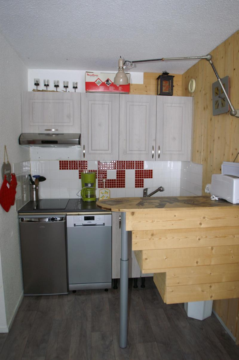 Location au ski Appartement 2 pièces 5 personnes - Résidences Prapoutel les 7 Laux - Les 7 Laux - Kitchenette