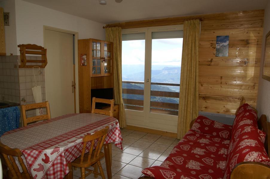 Location au ski Appartement 2 pièces cabine 6 personnes (standard) - Résidences Prapoutel les 7 Laux - Les 7 Laux - Séjour