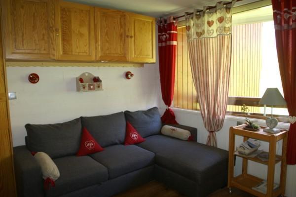 Аренда на лыжном курорте Квартира студия кабина для 4 чел. - Résidences Prapoutel les 7 Laux - Les 7 Laux - Салон