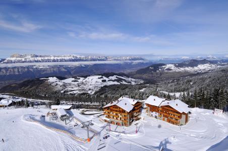 Location au ski Résidence les Granges des 7 Laux - Les 7 Laux - Extérieur hiver