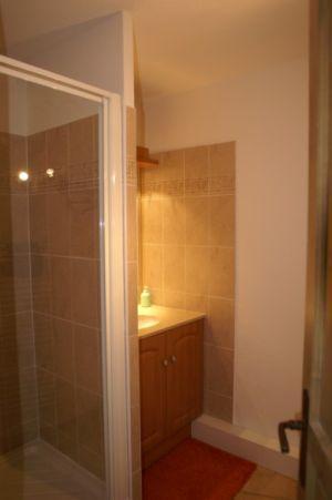 Location au ski Appartement 2-3 pièces 4-6 personnes - Residence Les Granges Des 7 Laux - Les 7 Laux - Douche