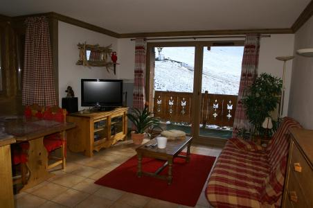 Location au ski Appartement 2-3 pièces 4-6 personnes - Résidence les Granges des 7 Laux - Les 7 Laux - Séjour