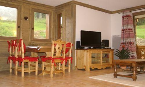 Location au ski Appartement 2-3 pièces 4-6 personnes - Residence Les Granges Des 7 Laux - Les 7 Laux - Séjour
