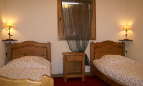 Location au ski Appartement 2 pièces 4 personnes - Residence Les Granges Des 7 Laux - Les 7 Laux - Chambre