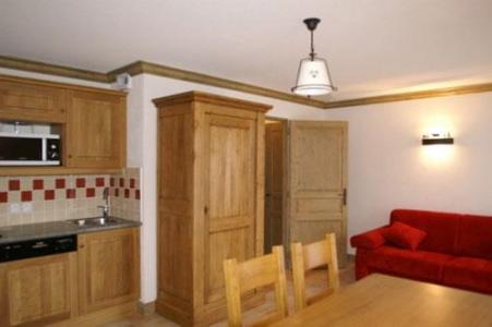 Location au ski Appartement 2 pièces 4 personnes - Residence Les Granges Des 7 Laux - Les 7 Laux - Cuisine ouverte