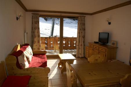 Location au ski Appartement 2 pièces 4 personnes - Résidence les Granges des 7 Laux - Les 7 Laux - Séjour