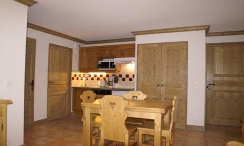 Location au ski Appartement 2 pièces 4 personnes - Residence Les Granges Des 7 Laux - Les 7 Laux - Séjour