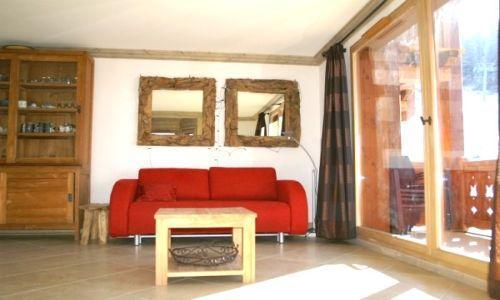 Location au ski Appartement 3 pièces cabine 6-8 personnes - Residence Les Granges Des 7 Laux - Les 7 Laux - Canapé