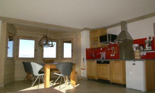 Location au ski Appartement 3 pièces cabine 6-8 personnes - Residence Les Granges Des 7 Laux - Les 7 Laux - Cuisine