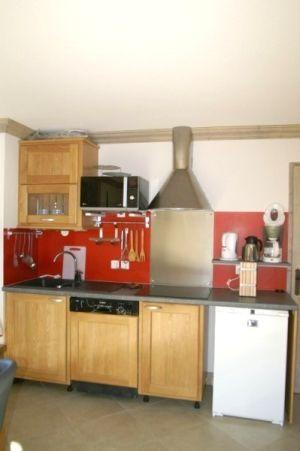 Location au ski Appartement 3 pièces cabine 6-8 personnes - Residence Les Granges Des 7 Laux - Les 7 Laux - Kitchenette