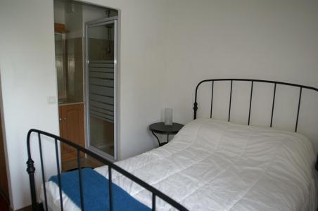 Location au ski Appartement 3 pièces cabine 6-8 personnes - Résidence les Granges des 7 Laux - Les 7 Laux - Lit double