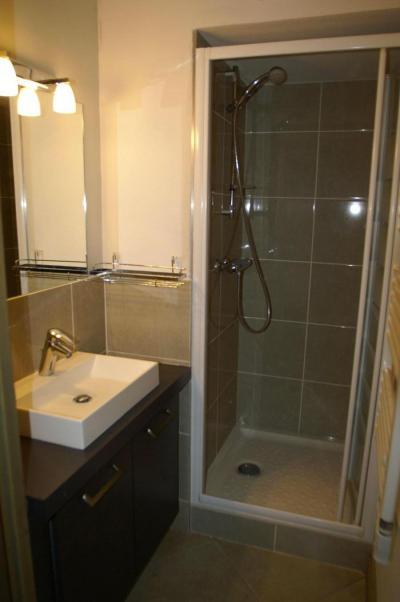 Location au ski Appartement 3 pièces cabine 6-8 personnes - Résidence les Granges des 7 Laux - Les 7 Laux - Salle d'eau