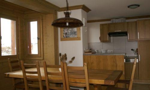Location au ski Appartement duplex 3 pièces cabine 10 personnes - Residence Les Granges Des 7 Laux - Les 7 Laux - Hotte aspirante
