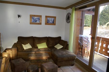 Location au ski Appartement duplex 3 pièces cabine 10 personnes - Résidence les Granges des 7 Laux - Les 7 Laux - Séjour