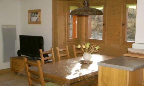 Location au ski Appartement duplex 3 pièces cabine 10 personnes - Residence Les Granges Des 7 Laux - Les 7 Laux - Table