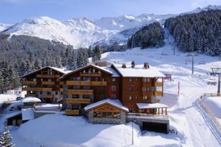 Location au ski Residence Les Granges Des 7 Laux - Les 7 Laux - Extérieur hiver