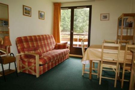 Location au ski Appartement 2 pièces 5 personnes (standard) - Residences Le Pleynet Les 7 Laux - Les 7 Laux - Séjour