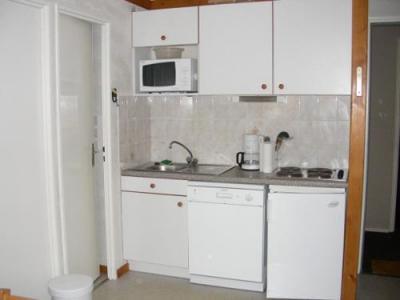Location au ski Appartement 2 pièces cabine 6 personnes (standard) - Residences Le Pleynet Les 7 Laux - Les 7 Laux - Cuisine
