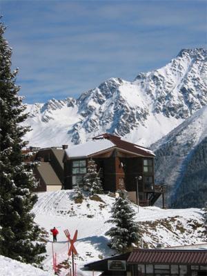 Location au ski Residences Le Pleynet Les 7 Laux - Les 7 Laux - Extérieur hiver