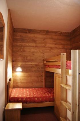 Location au ski Appartement 2 pièces 5 personnes (standard) - Residences Prapoutel Les 7 Laux - Les 7 Laux - Chambre