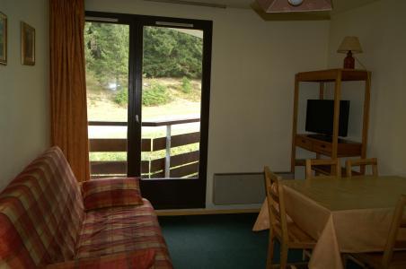 Location au ski Appartement 2 pièces 5 personnes (standard) - Résidences Prapoutel les 7 Laux - Les 7 Laux - Coin repas
