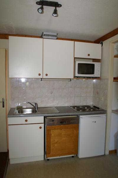 Location au ski Appartement 2 pièces 5 personnes (standard) - Résidences Prapoutel les 7 Laux - Les 7 Laux - Kitchenette
