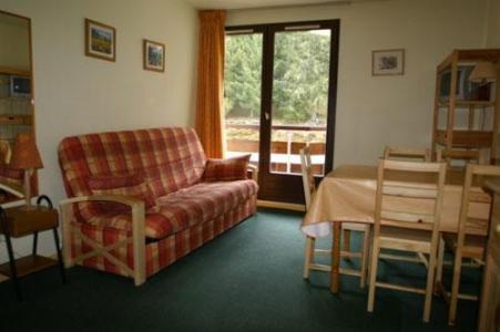 Location au ski Appartement 2 pièces 5 personnes (standard) - Residences Prapoutel Les 7 Laux - Les 7 Laux - Séjour