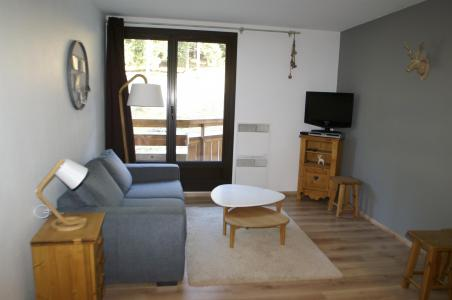 Location au ski Appartement 2 pièces 5 personnes (standard) - Résidences Prapoutel les 7 Laux - Les 7 Laux - Séjour