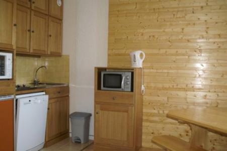 Location au ski Appartement 2 pièces cabine 6 personnes (standard) - Residences Prapoutel Les 7 Laux - Les 7 Laux - Cuisine