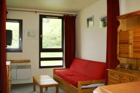 Location au ski Studio 3 personnes (standard) - Residences Prapoutel Les 7 Laux - Les 7 Laux - Séjour