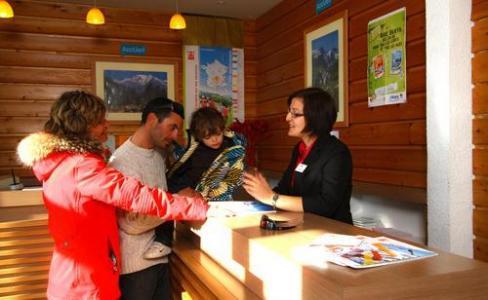 Location au ski Vvf Villages Les Adrets - Les 7 Laux - Réception