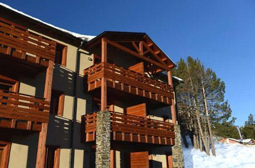 Location Residence Les Chalets De L'isard hiver