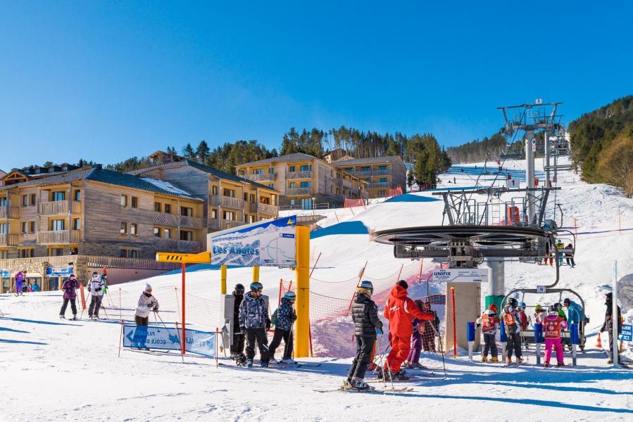 Alquiler al esquí Résidence Lagrange Prat de Lis - Les Angles - Invierno