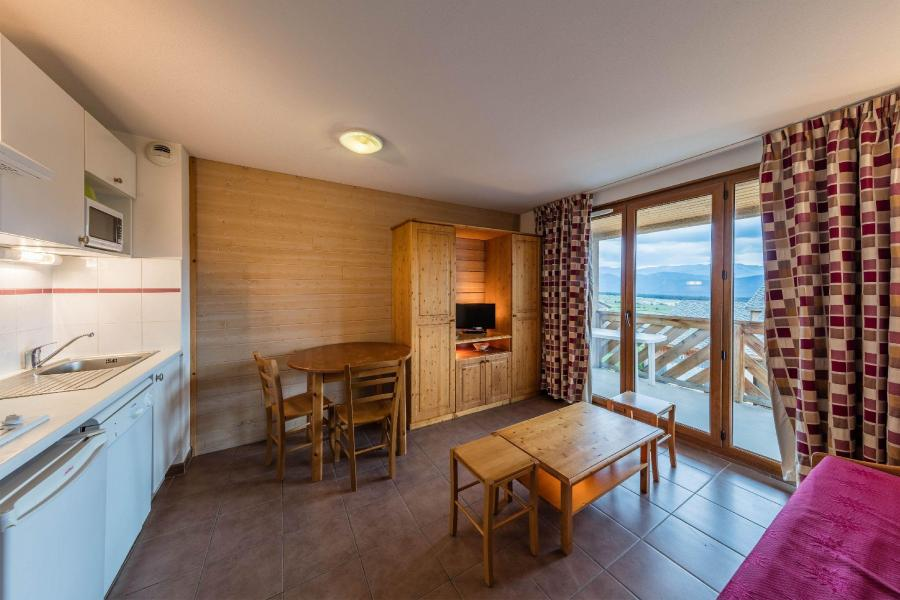 Аренда на лыжном курорте Résidence le Clos des Fontaneilles - Les Angles - Салон